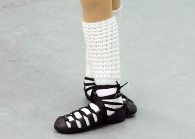 Photo of an Irish Step stance